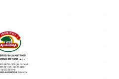 SOBRE IBERICOS ALHANDIGA (225 x 115) con marcas